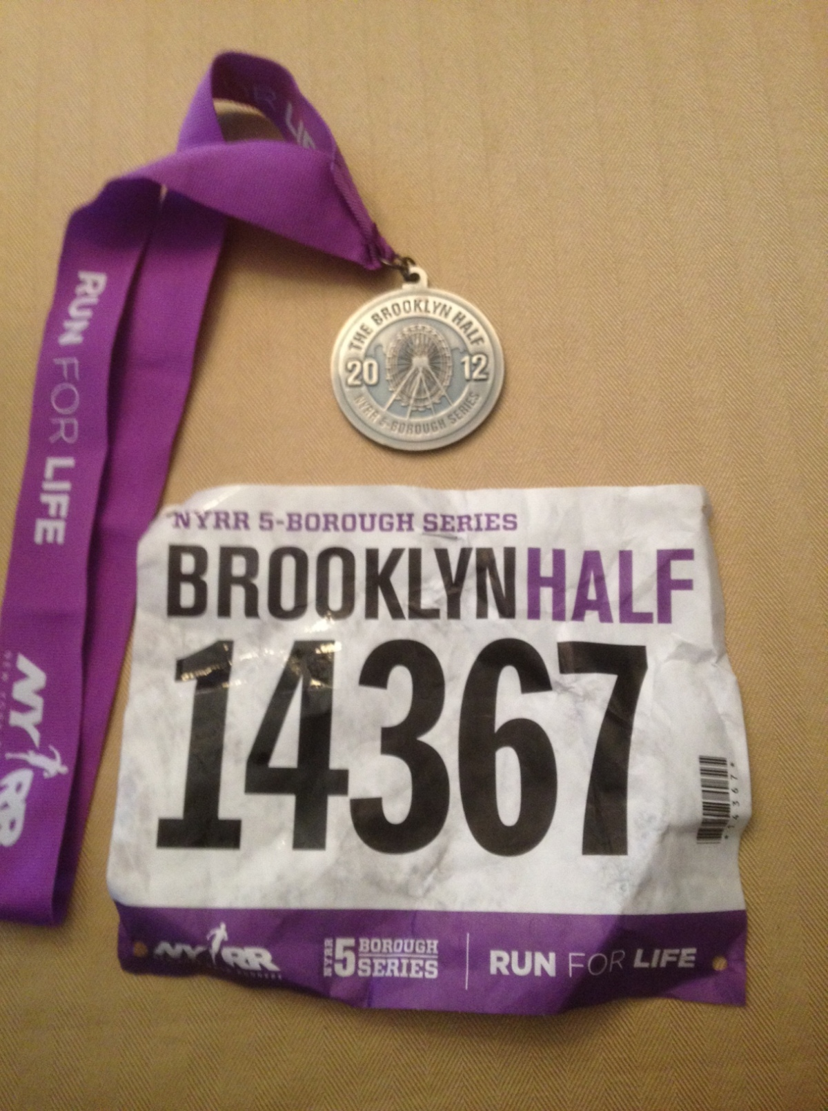 Brooklyn?  Forgetaboutit.  The Basics of Running?  I Forgot About Those Too…