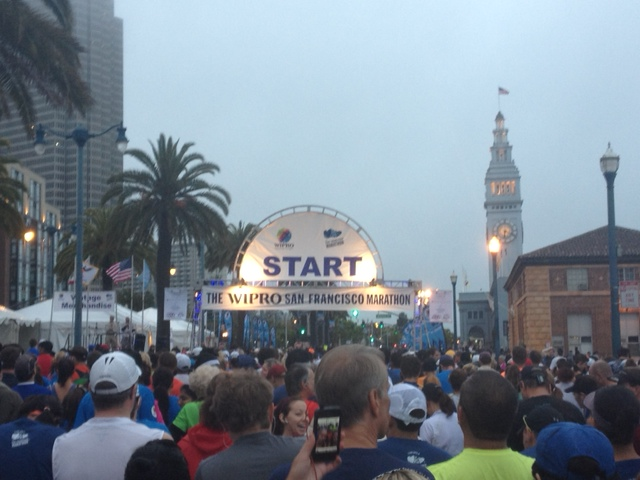 Marathon #7: The 2012 San Francisco Marathon…PART 1