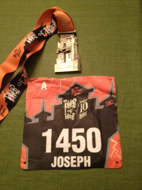 The 2012 Tower of Terror 10 Miler…A Warm Night in WDW