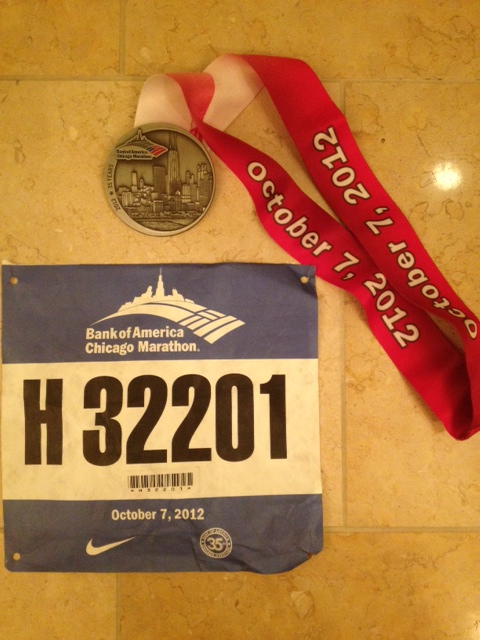 Marathon #10: The 2012 Chicago Marathon